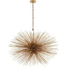 Visual Comfort KW5074G Kelly Wearstler Strada 20 Light 38 inch Gild Pendant Ceiling Light, Kelly Wearstler, Medium, Oval