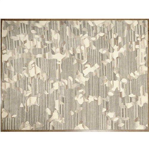 Anemone Rug-Grey/Ivory-5 x 8