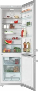 KFN 13923 DE edt/cs Freestanding fridge-freezer with convenient interior cabinet and IceMaker for fresh ice cubes any time. Product Image