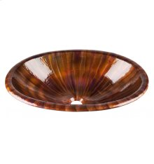 Acapulco II Multi-Colored Copper Bath Sink