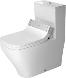 White Durastyle Toilet Close-coupled For Sensowash®