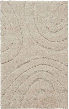 Jaspar Jasp1 Cream Rectangle Rug 3'2'' X 5'