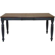Extension Table in Espresso & Aged Ebony
