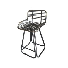 "Emerald Home D102-24 Laurell Hill 24"" Bar Stool, Patina Gray"