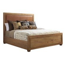 Antilles Upholstered Panel Bed Queen