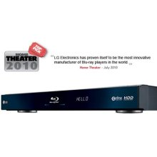 Network Blu-ray Disc™ Player with 250GB Media Library