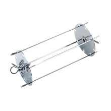 HSE Kebab grilling device for grilling up to four skewers at the same time.