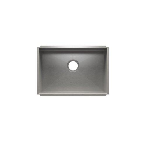 """UrbanEdge® 003680 - undermount stainless steel Kitchen sink , 24"""" × 16"""" × 10"""""""
