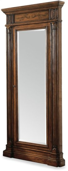 Floor Mirror w/Jewelry Armoire Storage