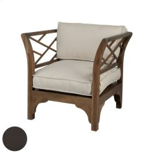 Teak Patio Chair In Antique Smoke