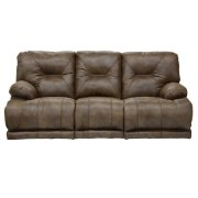 """Lay Flat"" Recl Sofa w/3x DDT - Brandy Product Image"
