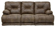 """Lay Flat"" Recl Sofa - Brandy"
