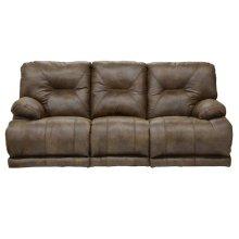 """""""Lay Flat"""" Recl Sofa w/3x DDT - Elk"""