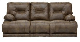 "Power ""Lay Flat"" Recl Sofa - Elk"