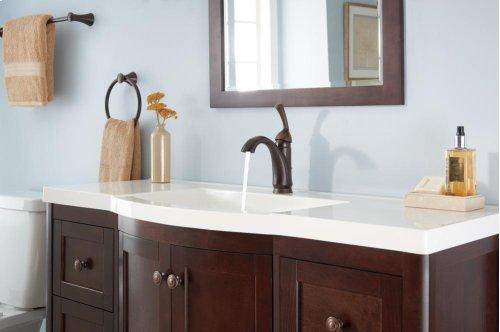 Venetian Bronze Single Handle Centerset Lavatory Faucet