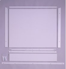 "Built-In Dishwasher 1/4"" Custom Trim Kit - Almond"