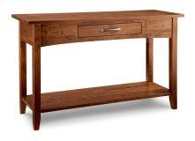Glengarry Sofa Table w/1dwr n/shelf