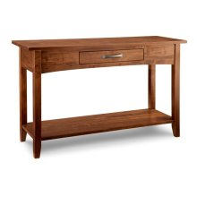 Glengarry Sofa Table w/1dwr n/shelf