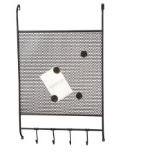 Mesh Magnet Board with Hooks.