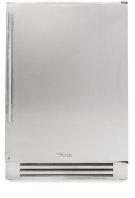 24 Inch Stainless Solid Door Undercounter Freezer - Left Hinge Stainless Solid Product Image