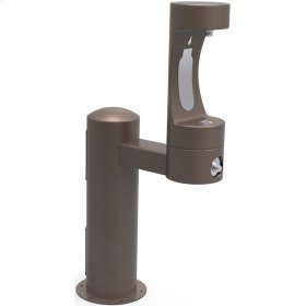 Elkay Outdoor EZH2O Bottle Filling Station Pedestal, Non-Filtered Non-Refrigerated Freeze Resistant Brown