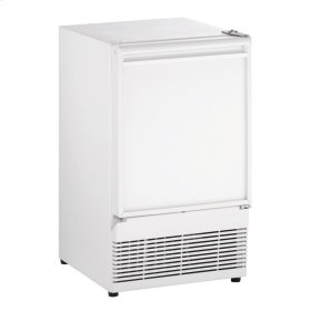 """15"""" Crescent Ice Maker White Solid Field Reversible"""