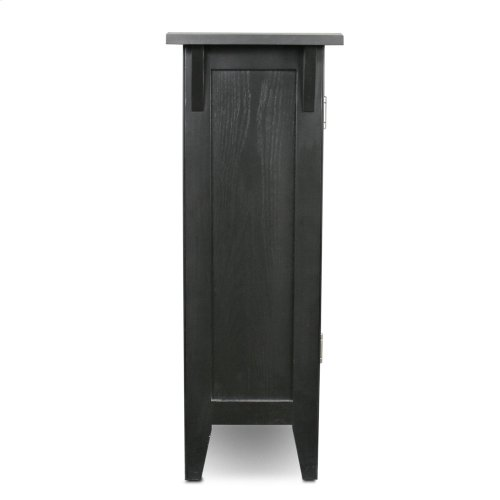Mission Foyer Cabinet/Hall Stand w/adjustable shelf #10001-SL