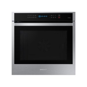 """Samsung24"""" 3.1 cu. ft. Single Electric Wall Oven with Convection and Wi-Fi in Stainless Steel"""