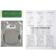 """Air Flow Reducer, 3-1/4"""" x 10"""" (sold in a pack of 5)"""