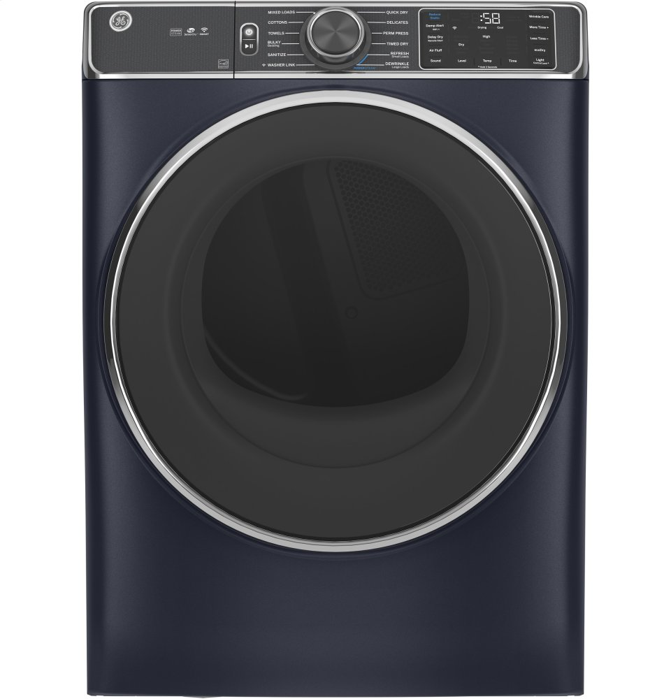 GE® 7.8 cu. ft. Capacity Smart Front Load Gas Dryer with Steam and Sanitize Cycle Photo #2