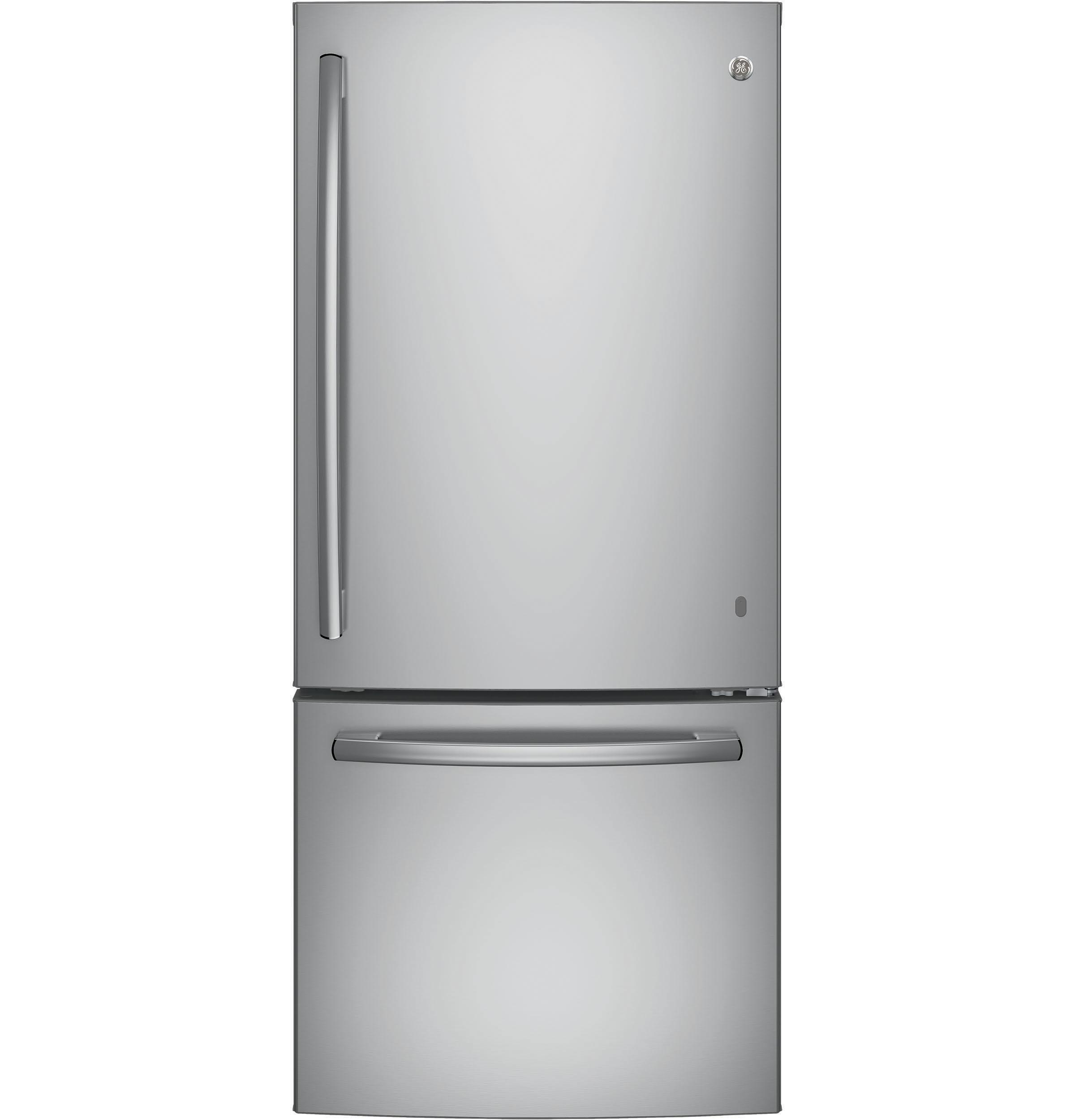 GE(R) ENERGY STAR(R) 21.0 Cu. Ft. Bottom-Freezer Refrigerator