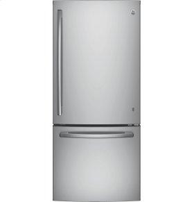 GE® ENERGY STAR® 20.9 Cu. Ft. Bottom-Freezer Refrigerator