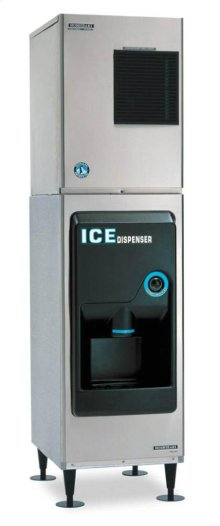 "22"" W Hotel/Motel Ice Dispenser - Stainless Steel Exterior"