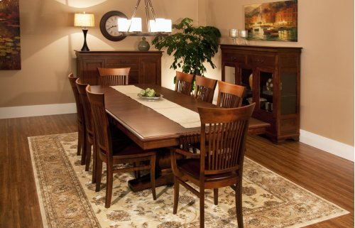 """45/68-2-12"""", *5/4* Thick Top Trestle Table"""