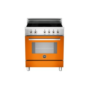 30 4-Induction Zones, Electric Self-Clean oven Orange - Orange