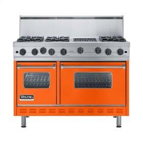 "Pumpkin 48"" Open Burner Range - VGIC (48"" wide, six burners 12"" wide char-grill)"