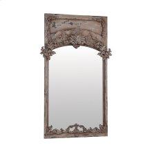 Carved Trumeau Mirror