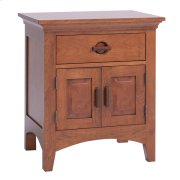 Great Lakes 1-Drawer, 2-Door Nightstand Product Image