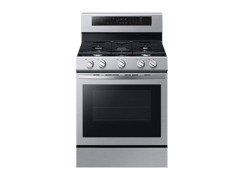 5.8 cu. ft. Freestanding Gas Range with True Convection in Stainless Steel Photo #1
