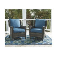 Lounge Chair w/Cushion (2/CN)