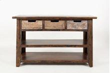 Painted Canyon Sofa Table