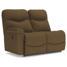 Red Hot Buy! Be Happy!James La-Z-Time® Right-Arm Sitting Reclining Loveseat
