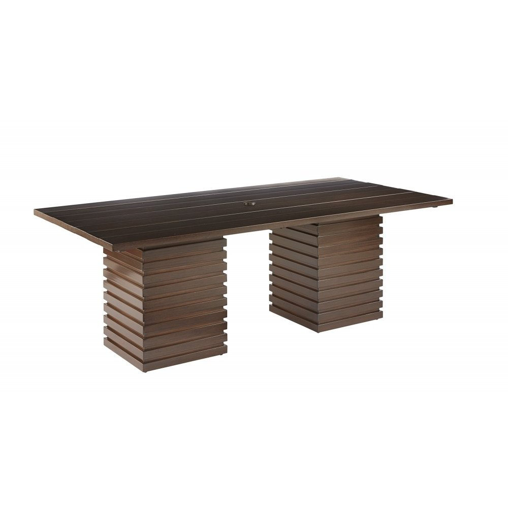 Epicenters Brentwood Outdoor Cypress Rectangular Dining Table