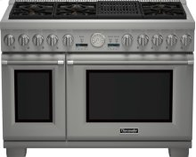 48 inch Professional Series Pro Grand Commercial Depth All Gas Range PRG486NLG