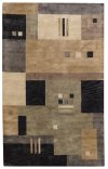 Tempo Black Multi Hand Tufted Rugs