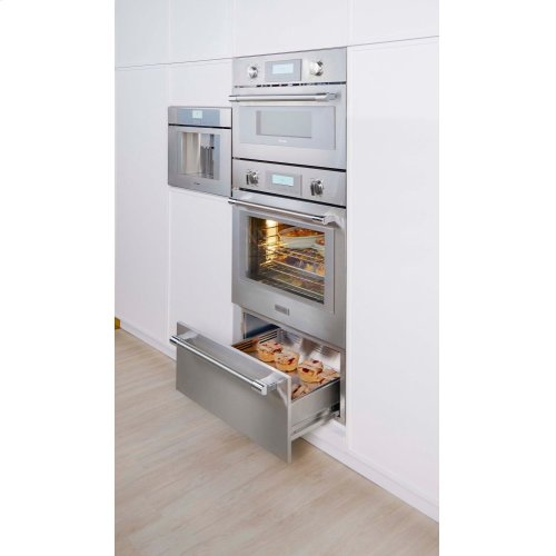 30-Inch Traditional Warming Drawer with Push to Open