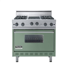 "Mint Julep 36"" Open Burner Range - VGIC (36"" wide, four burners 12"" wide char-grill)"