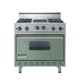"Mint Julep 36"" Open Burner Range - VGIC (36"" wide, four burners 12"" wide char-grill)"