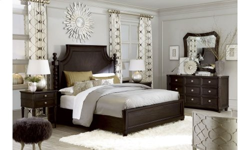 Morrissey Eastern King Healey Panel Bed Thistle