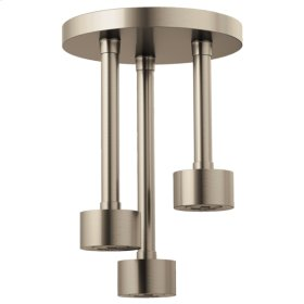 H 2 Okinetic® Round Ceiling Mount Pendant Showerhead